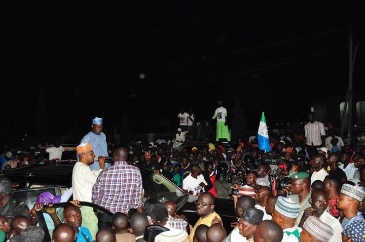 NIGER: NDI APC NA-AKWADO UZO MINNA / SULEJA MAKA BELLO, BUHARI