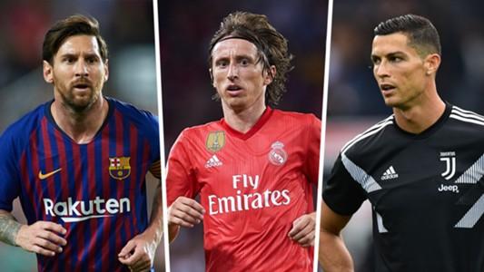 Messi, Modric and Ronaldo